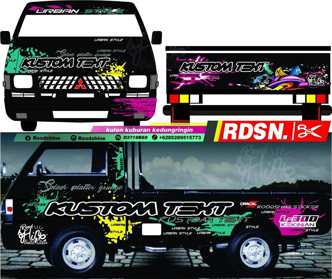 Tema-Bussid-Mobil-Pick-Up