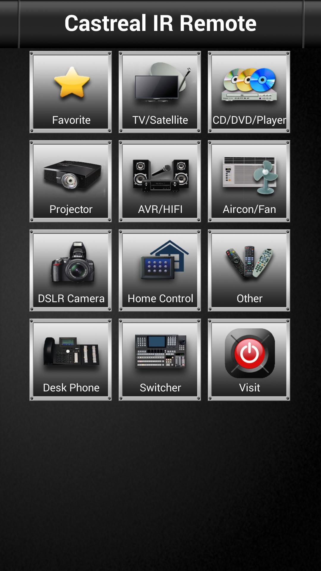 Castreal-Remote-Control