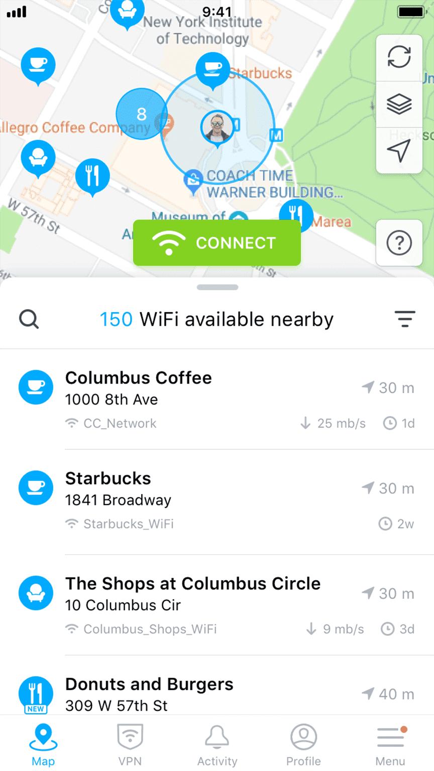Sesuai-fungsinya-WiFi-Map-membutuhkan-persetujuan-untuk-akses-lokasi-perangkat.-Pilih-Enable-Location-dan-OK